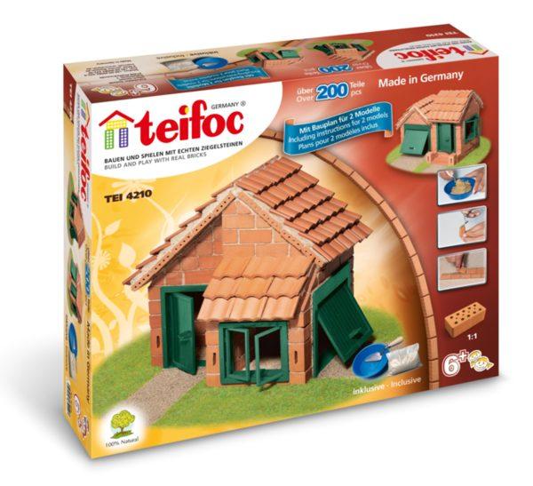 Конструктор с тухлички - Къщи с керемиден покрив